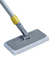 View: Q314 Upright Scrubber Pad Holder with Threaded Adapter Pack of 6